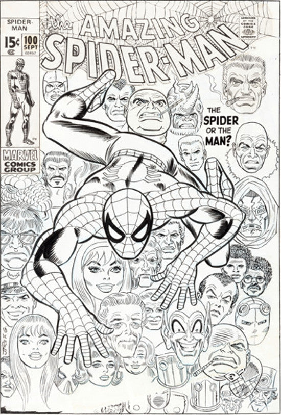Amazing Spiderman 100