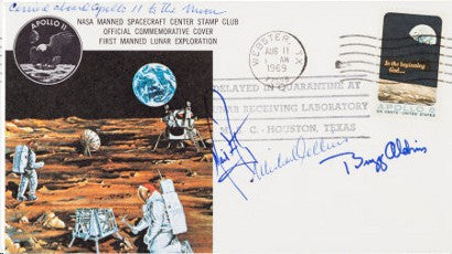 Apollo 11 stamp Heritage