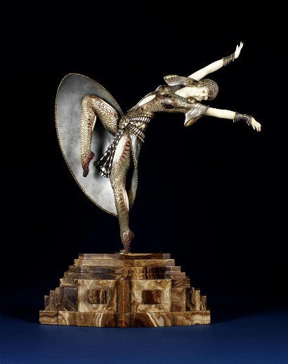 Chiparus statue art deco