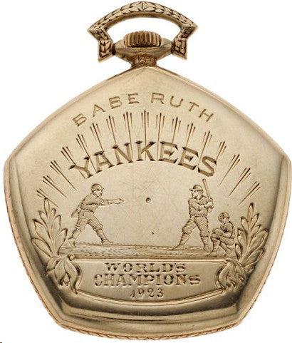 Babe Ruth pocket watch Heritage