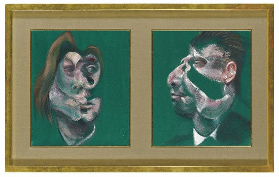 Bacon diptych Christies