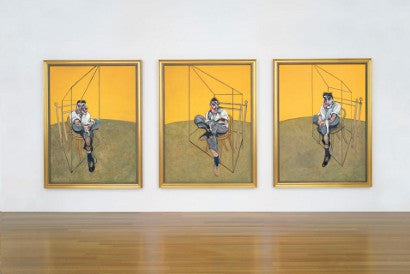Bacon Freud triptych