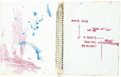 Basqiuat sketchbook Christie's Adler