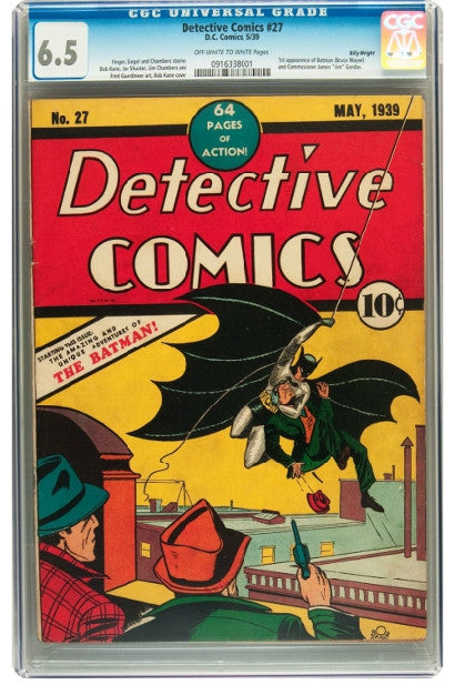 Billy Wright's Dectective Comics #27 - greeting 'The Bat Man'
