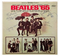 Beatles 65 signed