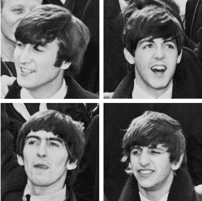 Beatles four picture