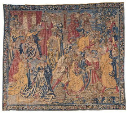 Belgian tapestry Sotheby's