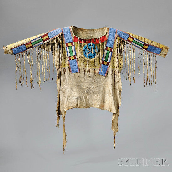 Blackfoot indian shirt
