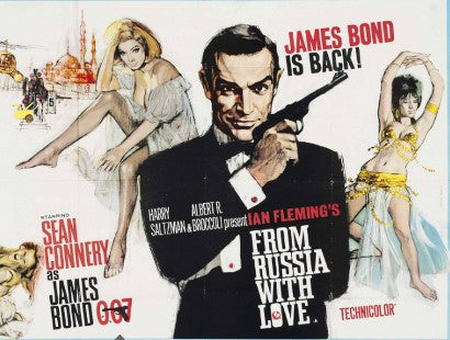 bond poster auction