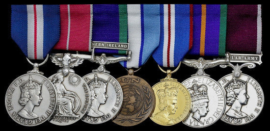 British Spy medals