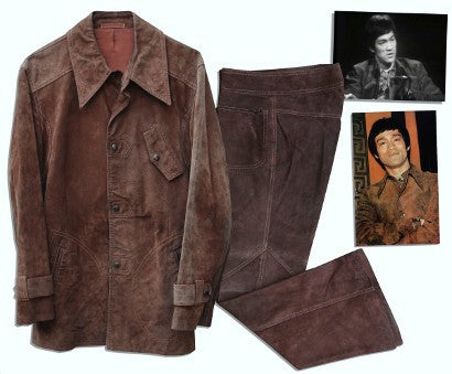 Bruce Lee lost interview suit