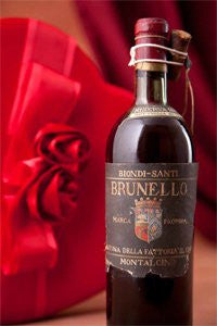Brunello wine auction