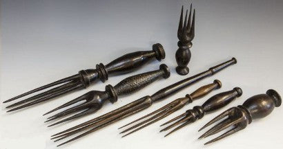 Fijian cannibals' cutlery auctions with a 1,740% increase