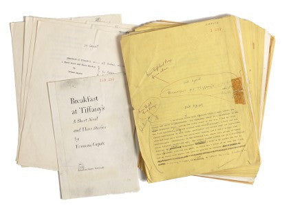 Truman Capote manuscript auction