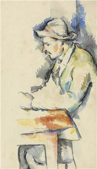 Cezanne Card Players sketch