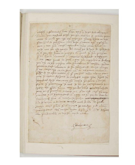 Catherine Aragon letter