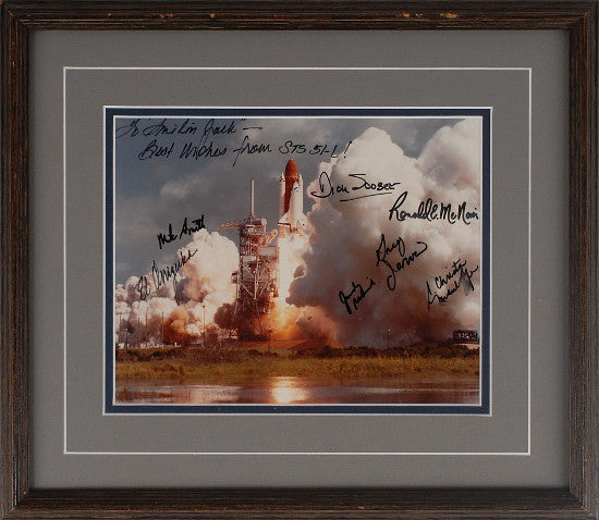 challenger photo signed