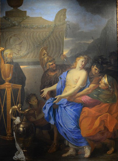 Charles le Brun ritz painting auction