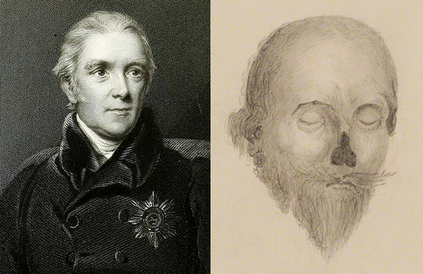 Sir Henry Halford and his sketch of Charles I's corpse