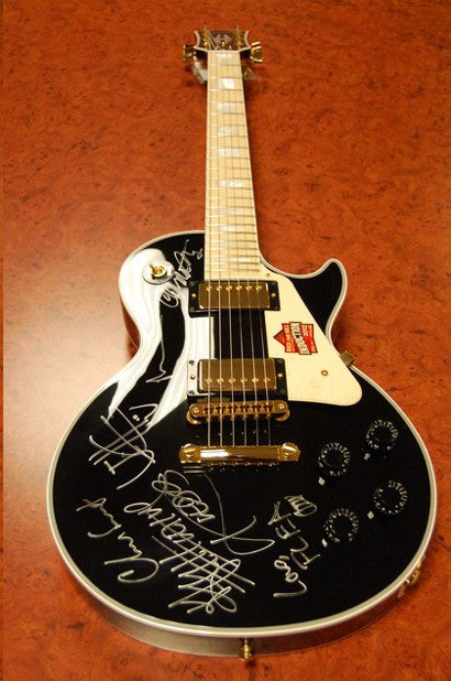 Red Hot Chilli Peppers guitar auction
