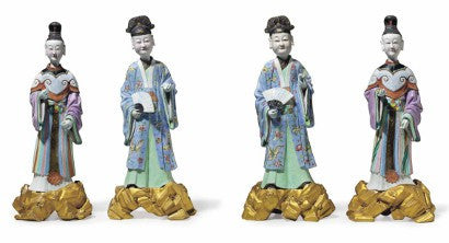 Chinese porcelain nodding head