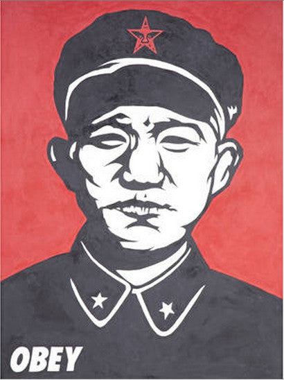 Shepard Fairey's Chinese Solder - a rare handpainted work by the artist