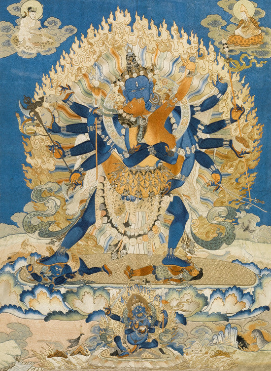 Chinese thangka Sothebys