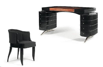 Christian Krass ebony desk