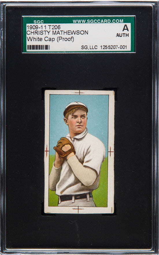 Christy Mathewson proof