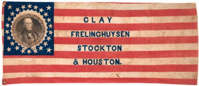 Clay campaign flag Delaware