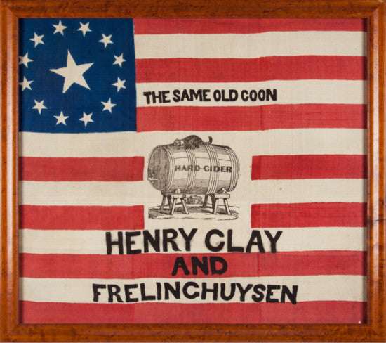 Clay campaign flag