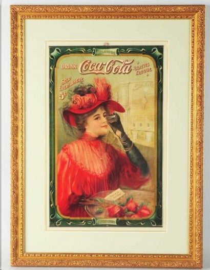 Coca Cola advert 1908
