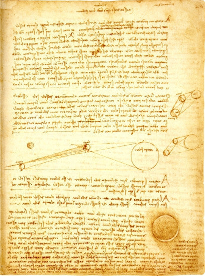 Da Vinci Codex Leicester