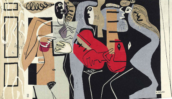 Corbusier tapestry Christies