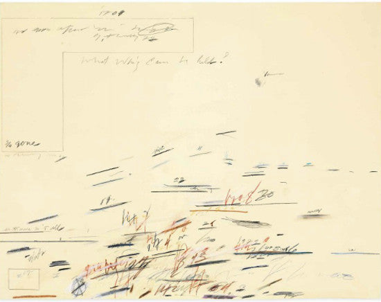 Cy Twombly Mallarme