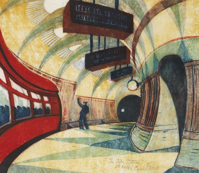 Cyril Power The Tube Station auction