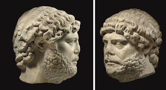 The Emperor Hadrian, who reigned circa 117-138 AD, ($578.5k)