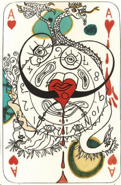 Dali playing cards