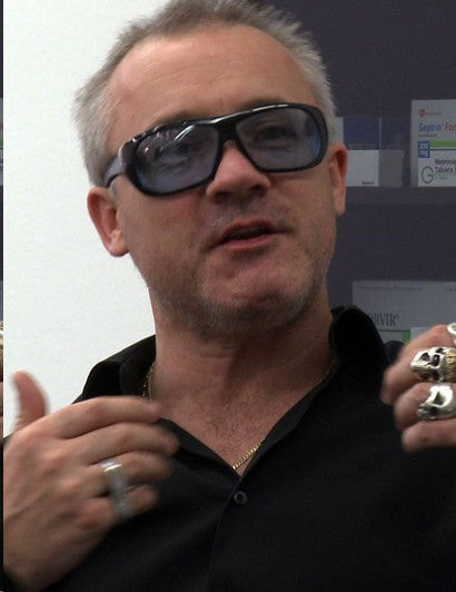 Damien Hirst spot paintings theft