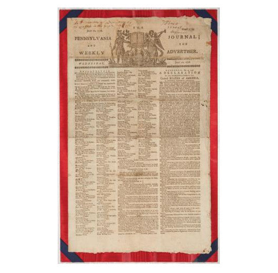 Declaration Independence paper