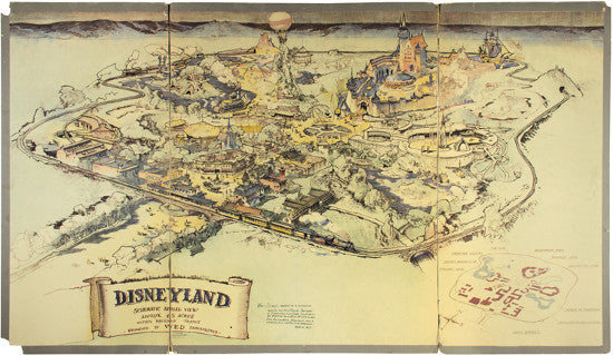 Disneyland map Eaton