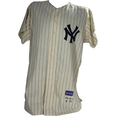Don Larsen perfect game uniform