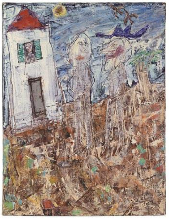 Dubuffet painting Christies