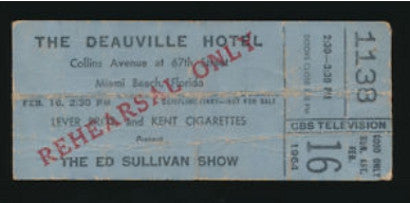 ed-sullivan-show-beatles-ticket-auction