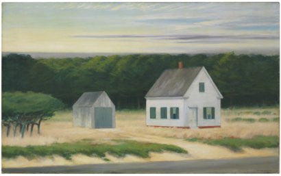 Edward Hopper October on Cape Cod