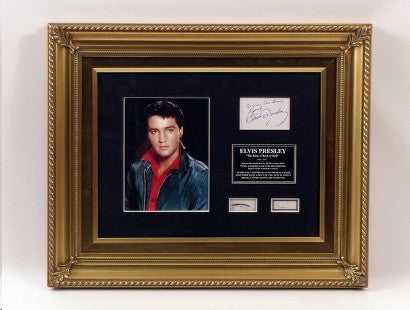 Elvis Presley hair auction