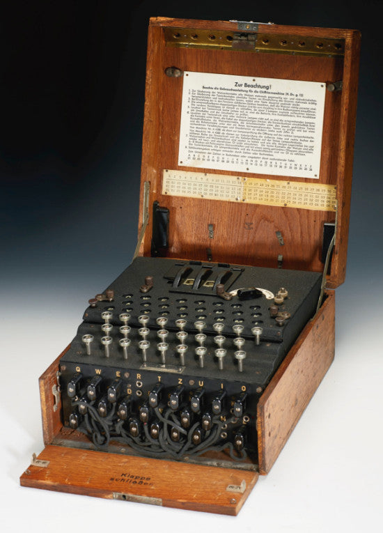 Enigma machine Sothebys