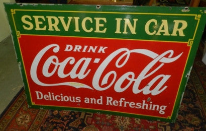 extremely rare Coca Cola 'Coke' sign advertising410.jpg