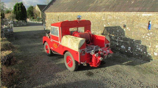 Fire Tender Land Rover