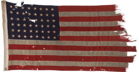 Flag US D-Day